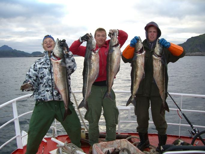 Fishingtrip in Lofoten