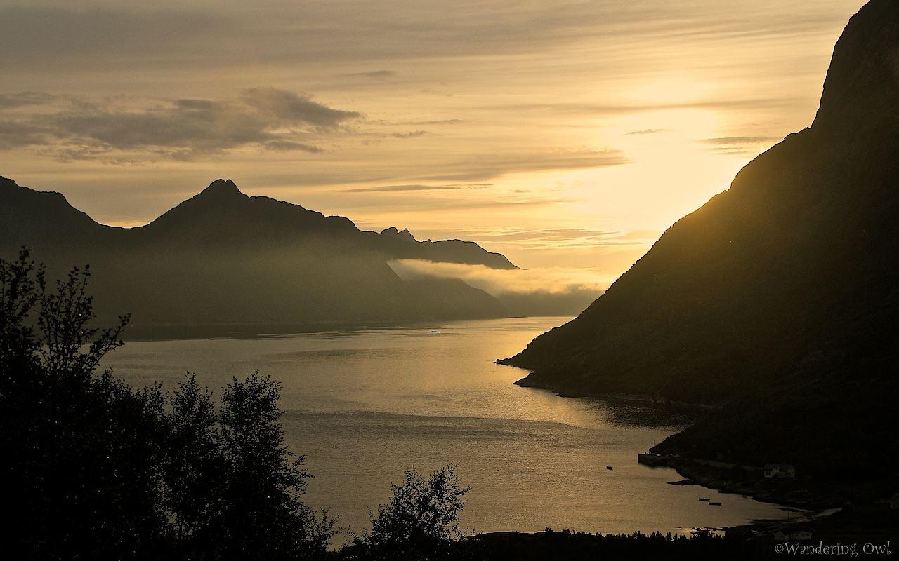 A Night Walk on the Wild Side - en fottur på Kvaløya