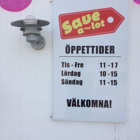 Save A Lot Outlet i Skurup