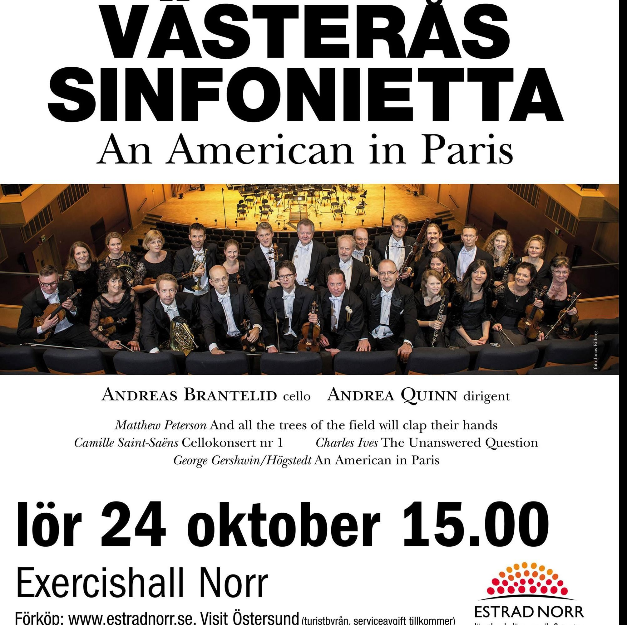 © John Garret Short, Västerås Sinfonietta - An American in Paris