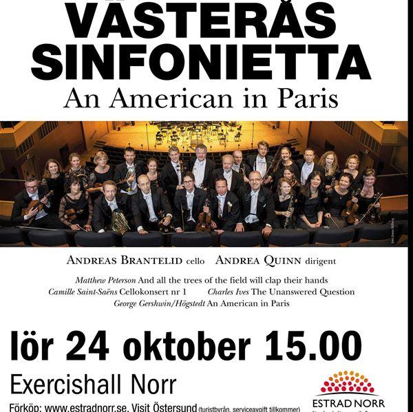 © John Garret Short, Västerås Sinfonietta - An American in Paris