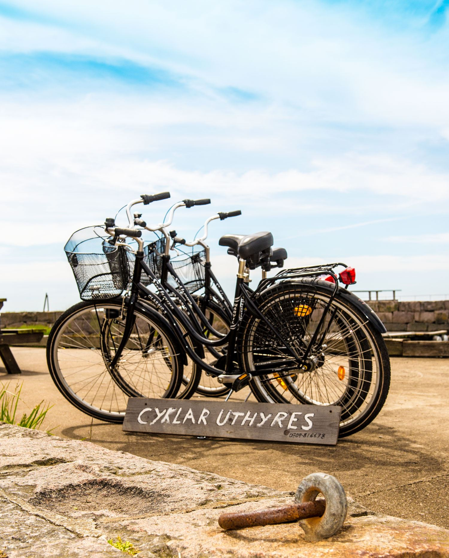 Cykeluthyrning - skärgård, landsbygd & city