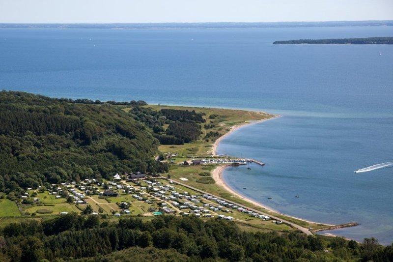 Rosenvold Strand Camping udlejning campinvogn