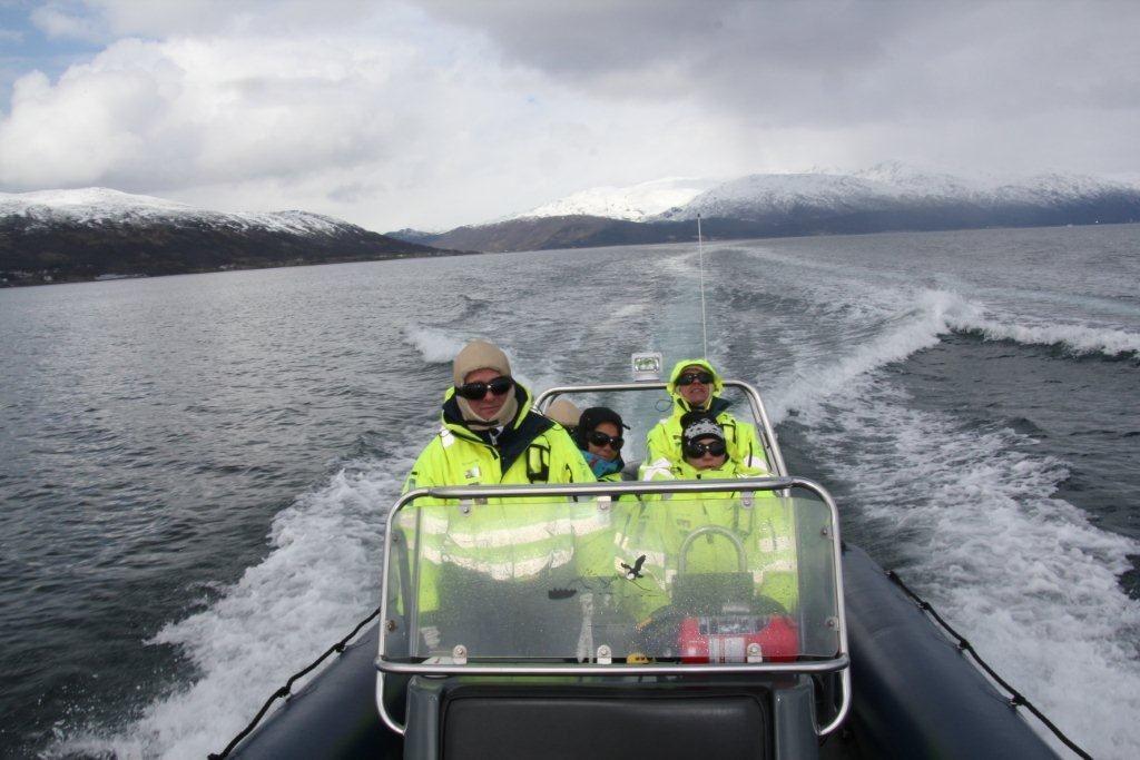 Midnattssoltur med RIB-båt - Tromsø Friluftsenter