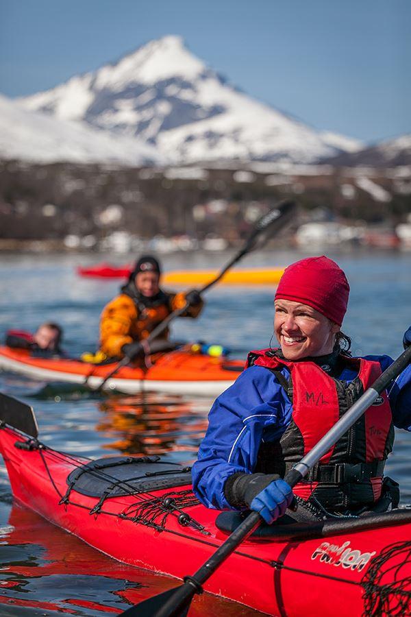 Kajakktur på Kvaløya – Tromsø Villmarkssenter