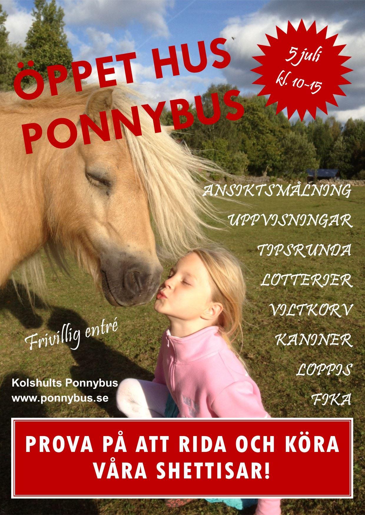 Öppet hus hos Ponnybus