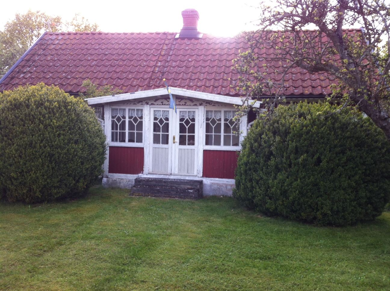 Ragnabovägen, an old, cosy fishing cabin.