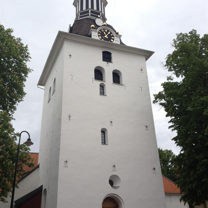Guided tours of St Gertrude's Church in Västervik