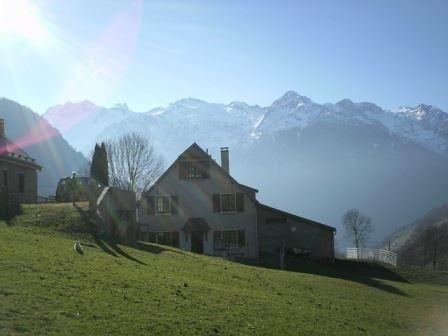 HPM134 - Gîte mitoyen dans un village typique de montagne