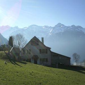 © Christine Lassalle, HPM134 - Gîte mitoyen dans un village typique de montagne