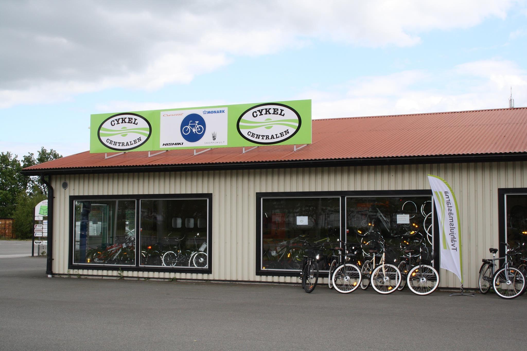 Cykeluthyrning och verkstad i Kristianstad