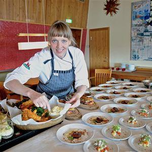 Gourmetmiddag På Nannas Kök