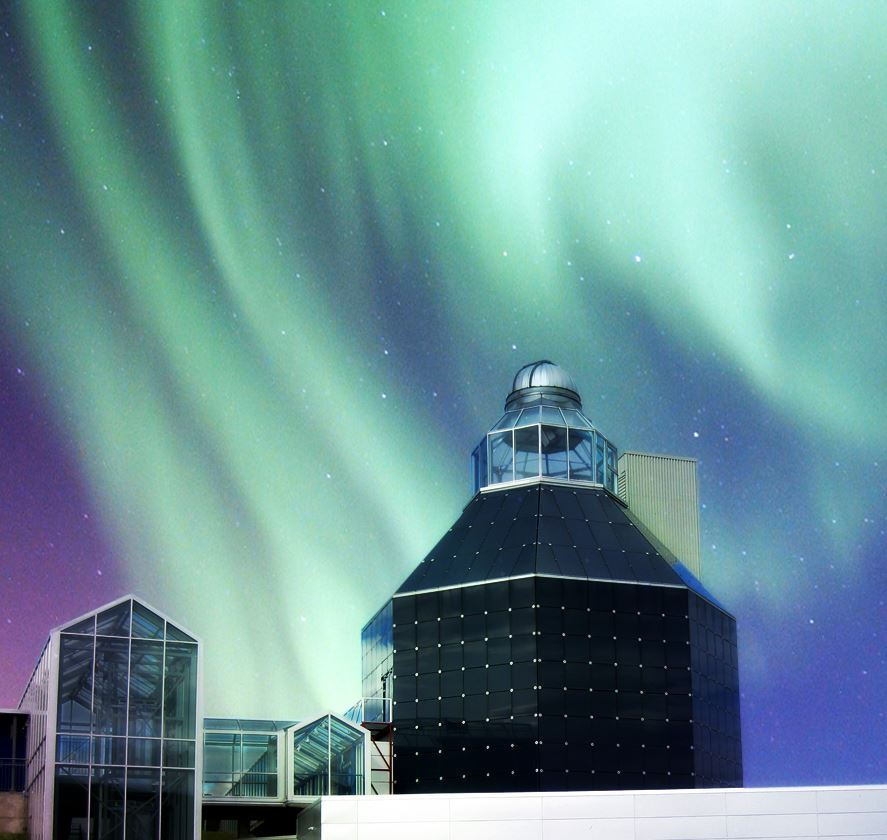 © Nordnorsk Vitensenter, Planetarium shows & Northern Lights - Science Centre of Northern Norway