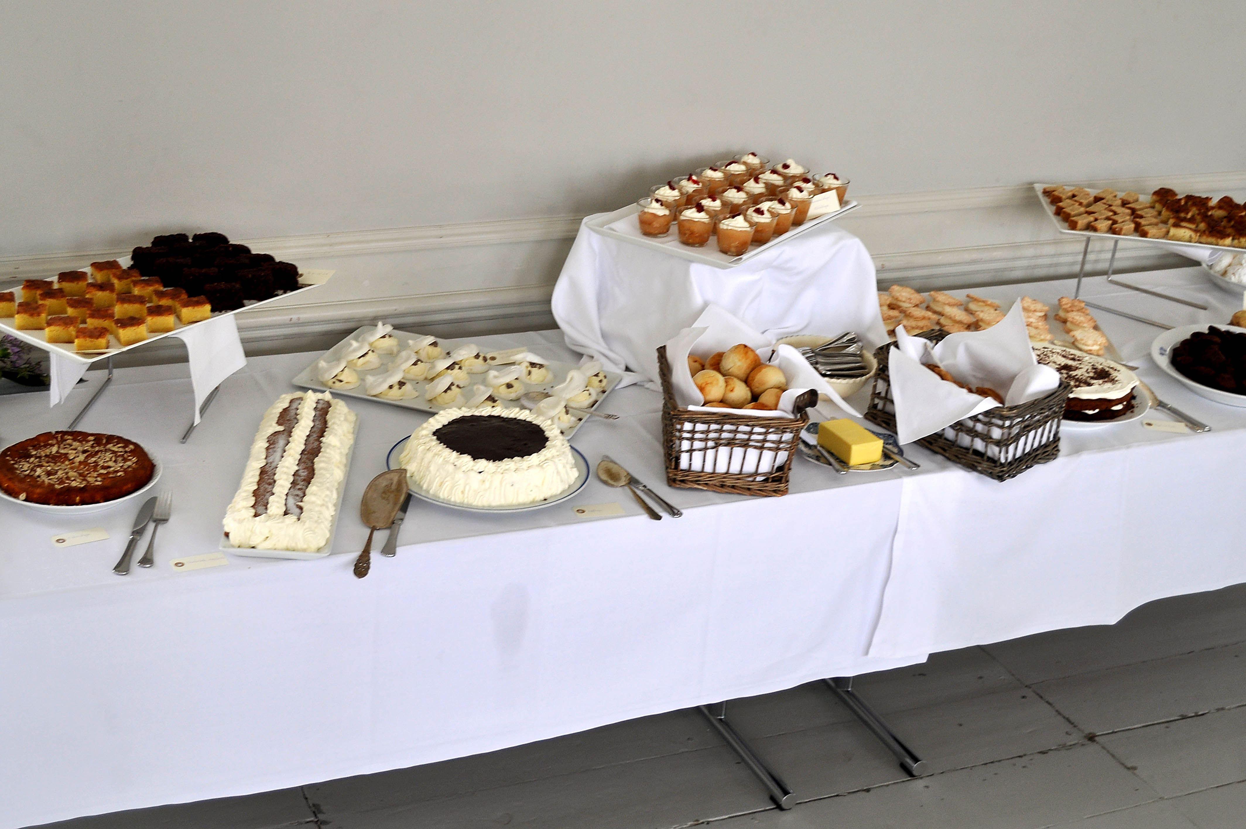Sønderjysk Kaffebord på Gram Slot