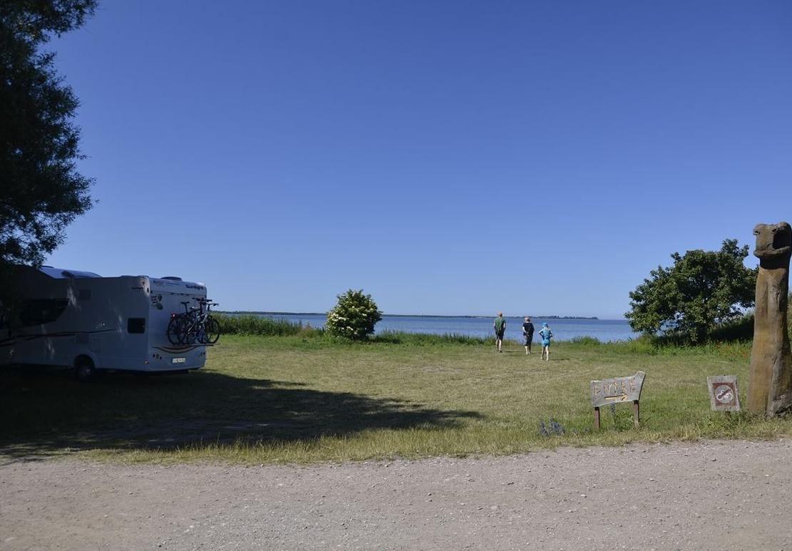 Park space for Caravan