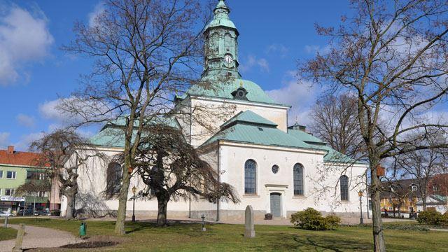 Carl Gustafs kyrka i Karlshamn.