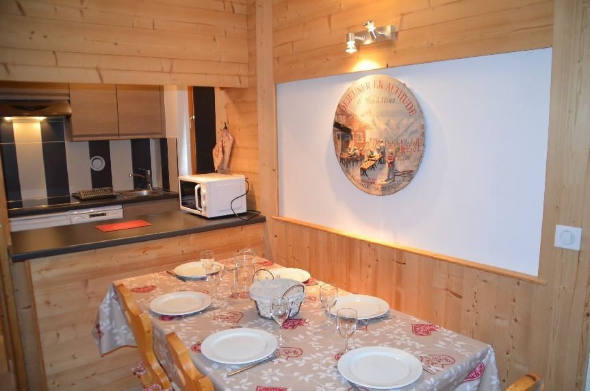 2 rooms 5 pers ski-in ski-out / CHAVIERE 425
