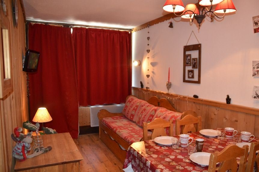 Studio cabin 4 Pers ski-in ski-out / VILLARET 704