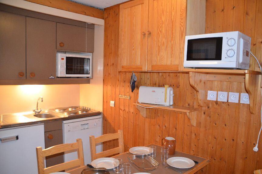 Studio cabine 4 Pers skis aux pieds / VILLARET 712