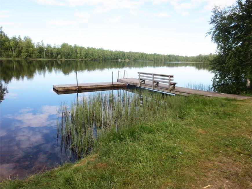 Bathing place Barnsjön