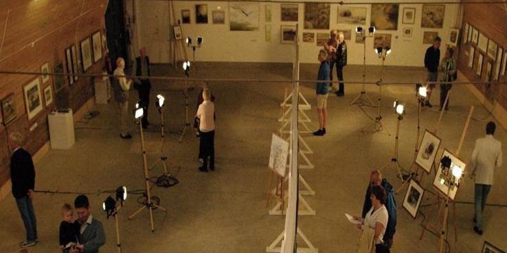 Utställning på Eriksberg