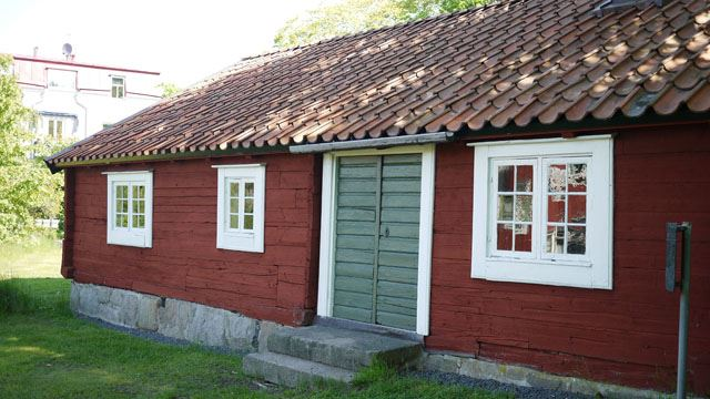 Fishermans cottage in Karlshamn