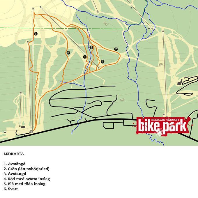 Hemavan Tärnaby Bikepark