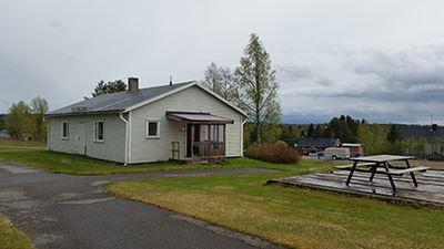 Jan van der Mierden,  © Malå kommun , Lägenhet i Rentjärn, utsida