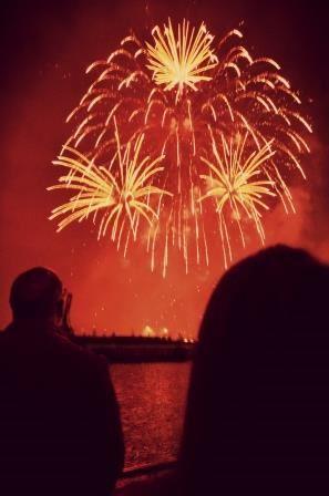 Croisière feu d'artifice du 14 juillet à bord de la Lutèce