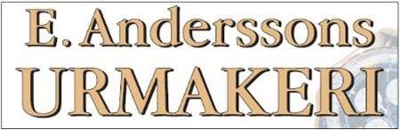 E Anderssons Urmakeri