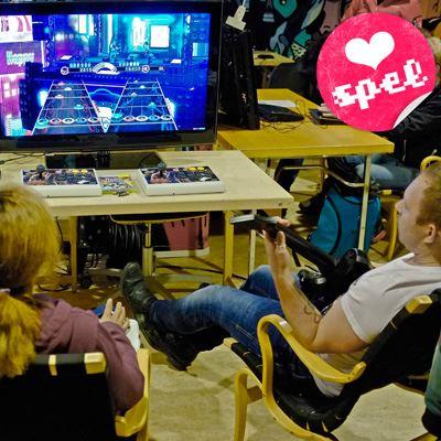 Foto: Kjell Carlsson,  © Kjell Carlsson, Spellördag - Massive Retro Gaming på Stadsbiblioteket