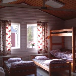 © Malå kommun, Stuga i Adak, insida