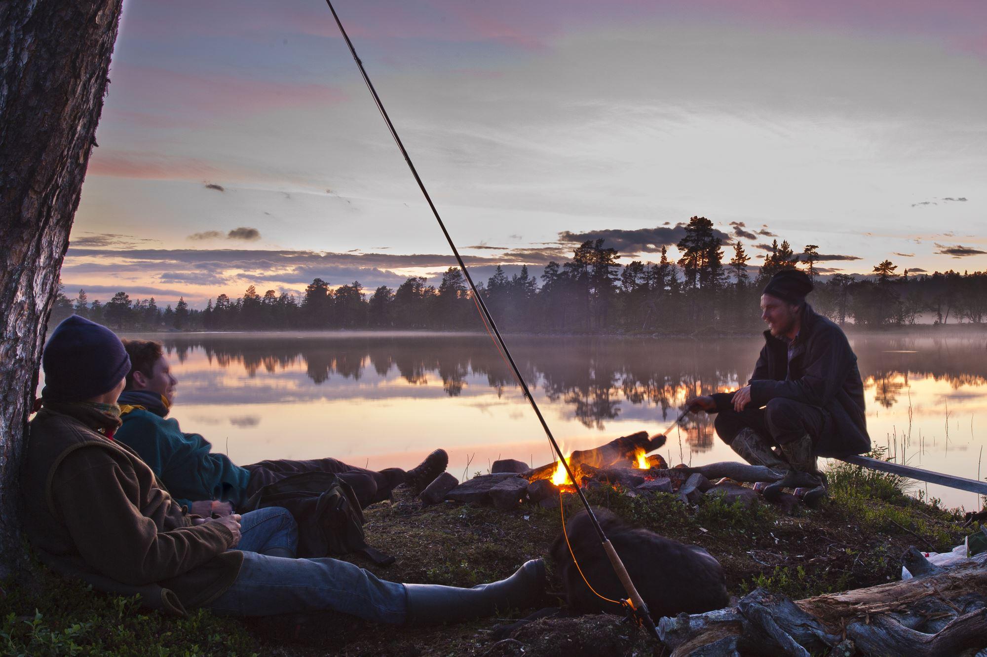 Fisketur med bröderna Sjölund