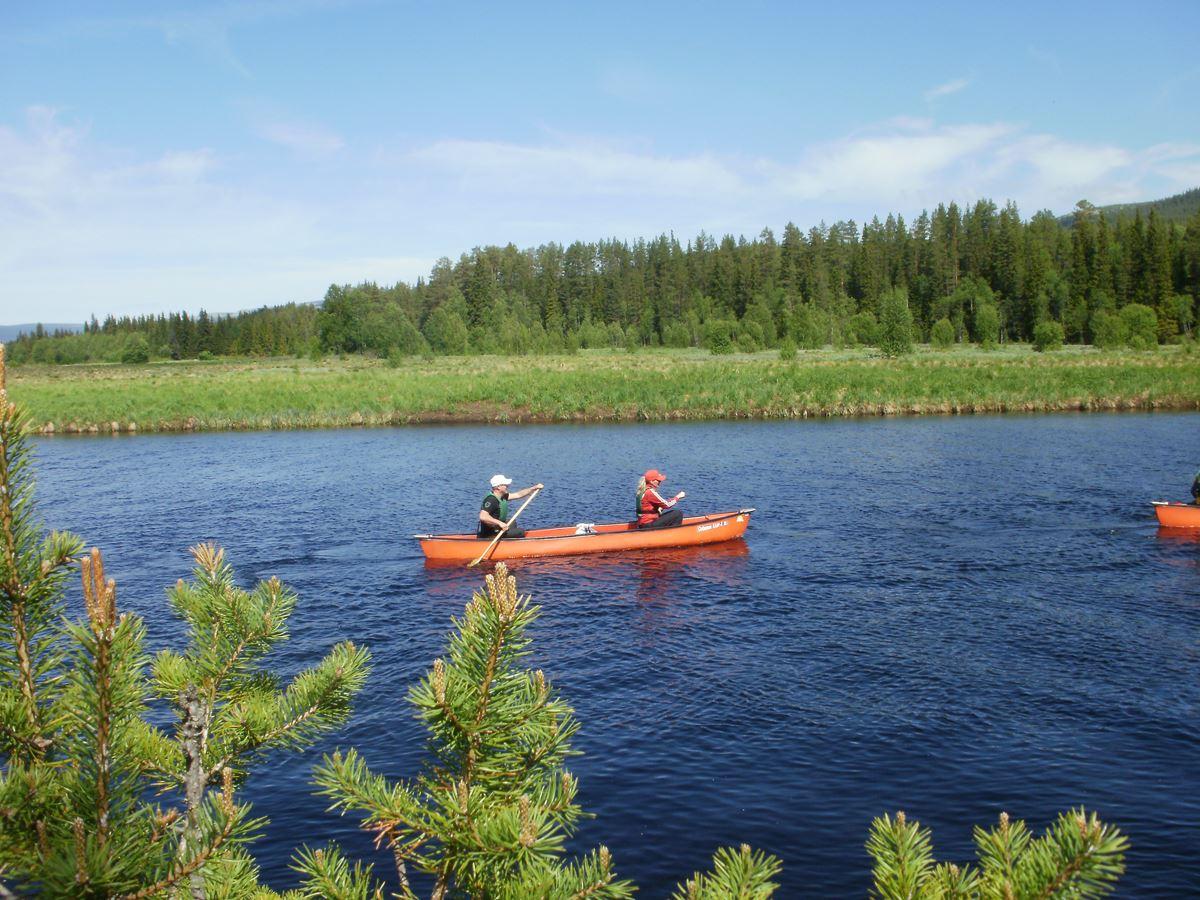 Stöten kanot