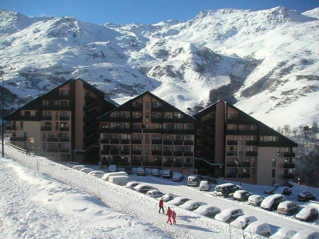 4 Pers Studio ski-in ski-out / SARVAN 524
