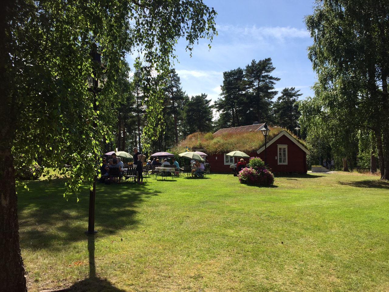 © Vetlanda turistcenter, Forngårdens Sommercafé