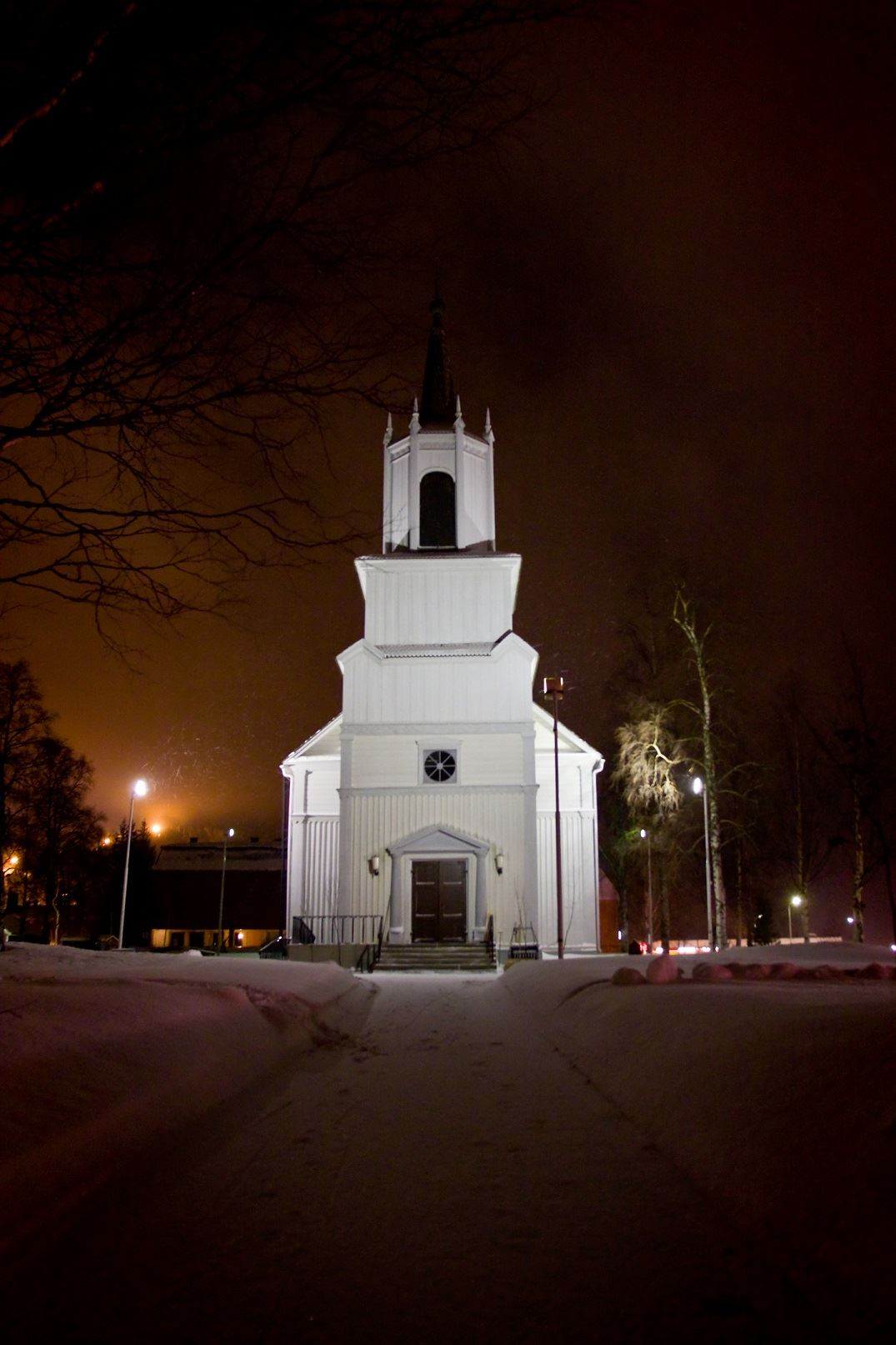 www.ricke.se,  © Malå kommun, Malå kyrka