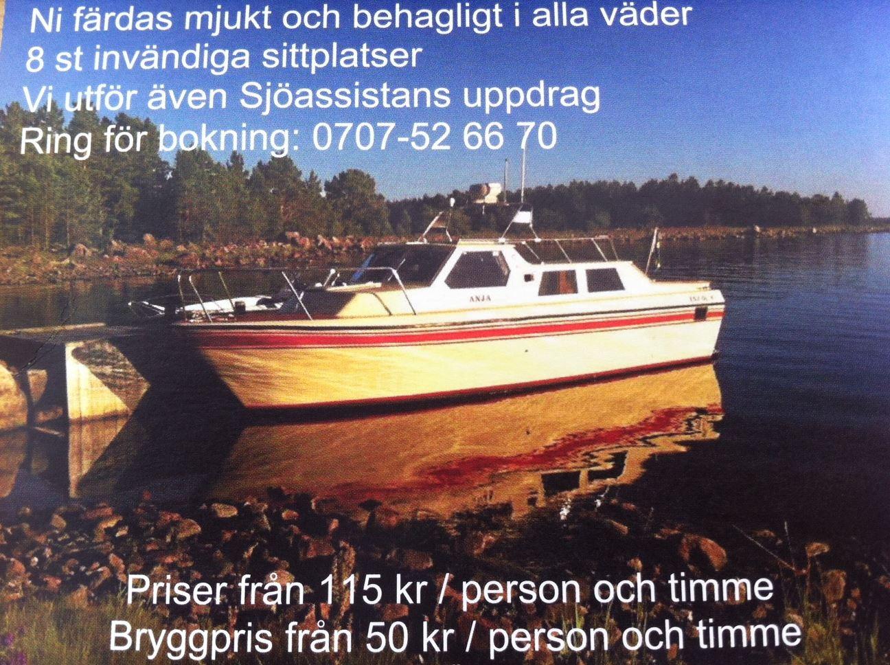 Båtturer från Skärså