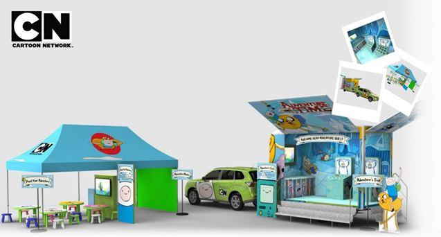 Cartoon Network kommer till Böda Sand med Äventyrsdags-favoriterna Finn & Jake