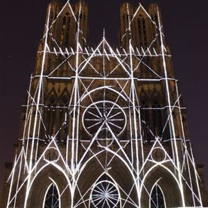 Reims by night - bilingual guided tour English / French