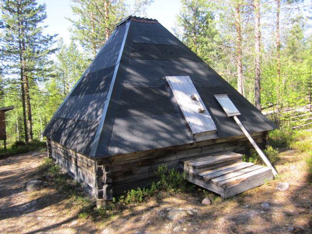 © Malå kommun, Stor-Stinas viste, kåta