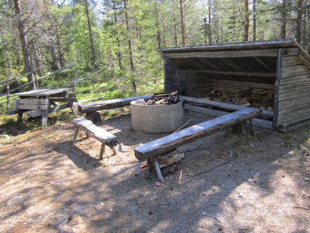 © Malå kommun, Stor-Stinas viste, grillplats