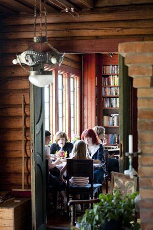 Skyttepaviljongen Café och Bagarstuga