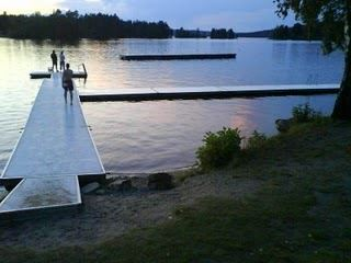 Klavreströms badplats