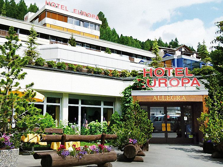 Lägenhet för upp till 2 personer med 1 rum på Hotel Europa - St. Mortiz
