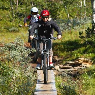Sam Hedman,  © Hemavan Tärnaby PR-förening, Hemavan Tärnaby Bikepark