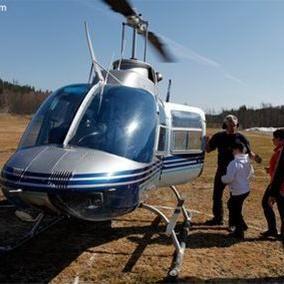 Anders Thorsell, Helikopterflygning