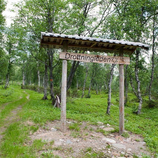 Marianne Lindgren,  © Hemavan Tärnaby PR-förening, Drottningleden (Queen's Trail)