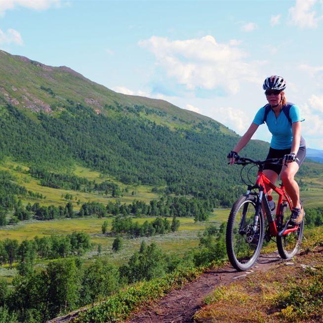 Sam Hedman,  © Hemavan Tärnaby PR-förening, Drottningleden (Queen's Trail)