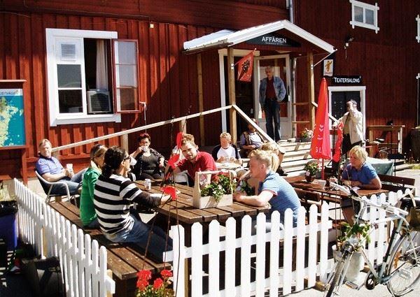 Mellanfjärdens Affär & Café - Affärn i Fjärn